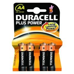 4 Batterie Stilo AA Duracell 1.5V