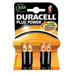 4 Batterie Ministilo AAA Duracell 1.5V