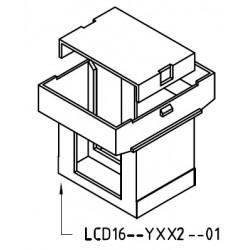 Guscio 16x16 Z6/DG completo di testata