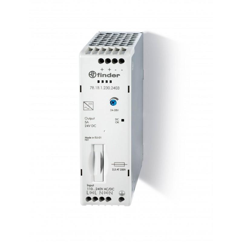 Alimentatore  781B12302403 - 5A con uscita 24 V DC