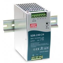 Alimentatore 240W SDR-240 per guida din