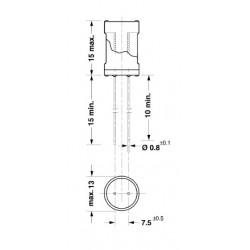 Induttanze 22uH 4700uH passo 7.5mm