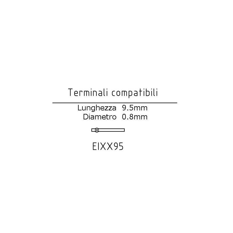 Terminale EIXX95 Lunghezza 9.5mm