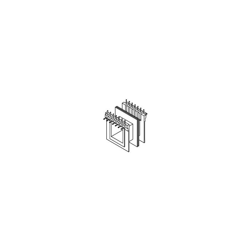 Rocchetto 20x25 Z6/DG 7+7 pins inseriti con asole