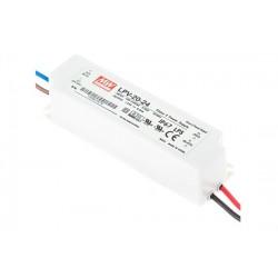 LPV-20-24  Input 90-264V Out 24V 0.84A